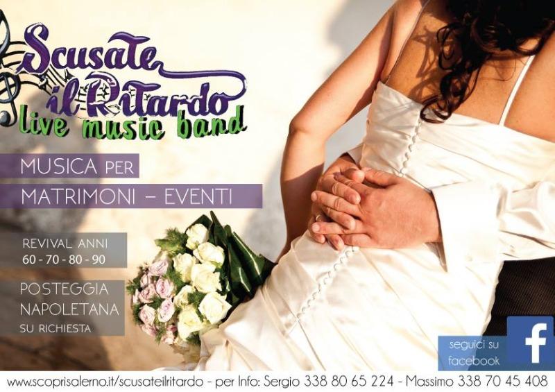 Musica per Eventi e Matrimoni a Salerno e provincia